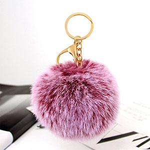 Pompoms Keychains