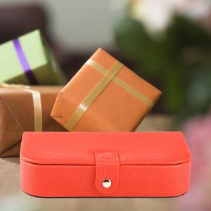 Orange Jewelry Travel Case As Gift
