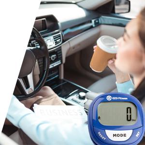 SC2 Pause step sensor step counter tracker pedometer ozo fitness tracker activity