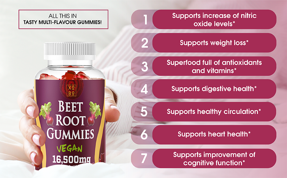beet root gummies supports weight loss