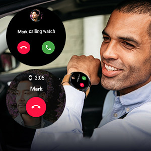 smartwatch supports calling and sim card