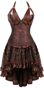 Corset Dress Women's Steampunk Clothing