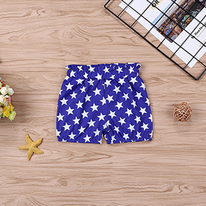 My 1st 4th of July Clothes Baby Boy Girl Outfits Newborn American Flag Star Romper + Shorts