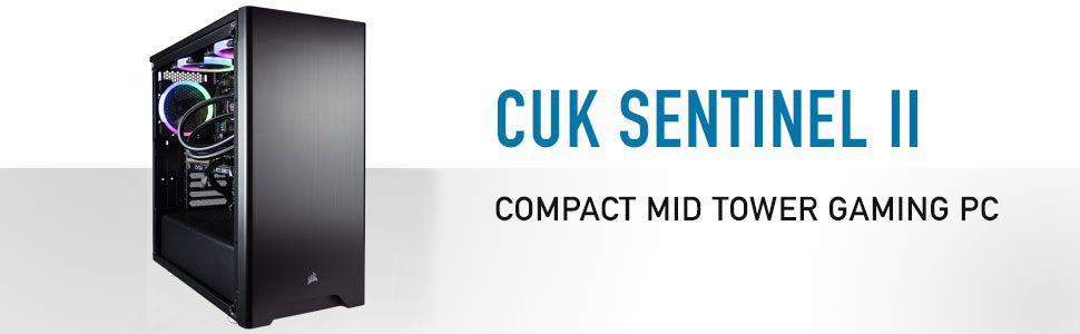 CUK Sentinel Gaming Desktop Banner