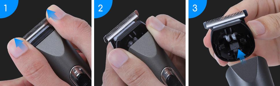 Maquinilla para cortar el pelo multifunción
