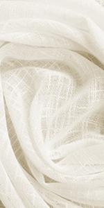 linen sheer curtains