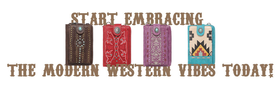 Montana West Crossbody Cell Phone Purse For Women