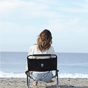 Neso XL Chair Black Beach Chair