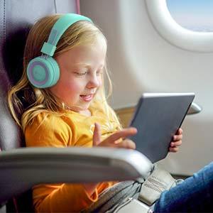 on ear headphones kids headphones bluetooth headphones with microphone wired headphones for kids