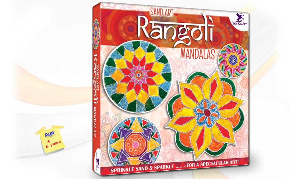 Sand Art Mandala Rangoli