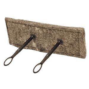 rectangle wool chimney fireplace flue draft blocker stopper easy installation better than inflatable