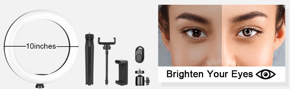 led makeup ring light