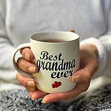 mug grandma, best grandma ever mug, grandma mug, best grandmother mug, mugs for grandma