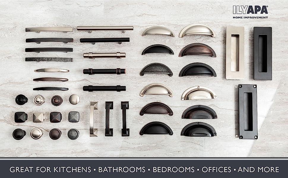 Kitchen Cabinet Knobs Amazon Satin Nickel Kitchen CabiKnobs   1 1/4 Inch Round Drawer