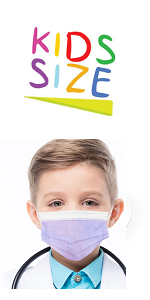 Kids disposable girls face mask