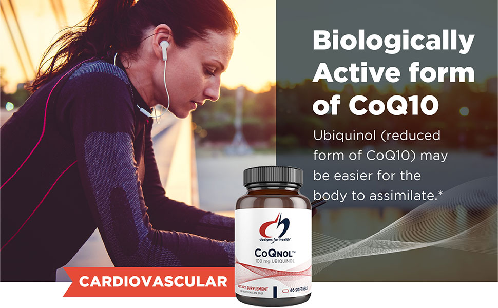 Biologically active form of CoQ10