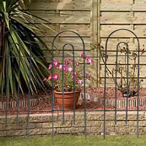 AshmanOnline Movable Border Garden Fence 32in x 20ft