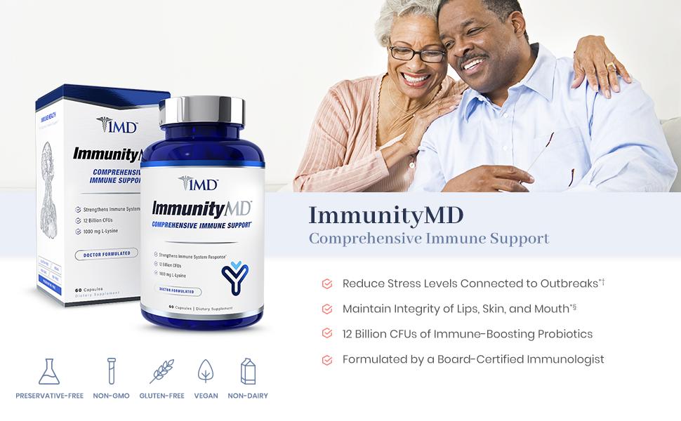 ImmunityMD - Elderly couple smiling