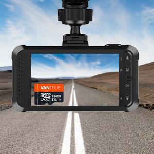 4K dash cam recording