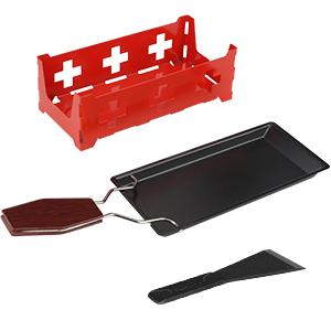 Raclette,Mini Antihaft-K/äse Raclette Rotaster Ofen mit Silikonspatel zum Schmelzen von K/äse,Schokolade