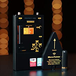 DD1206 Hidden Bug Detector