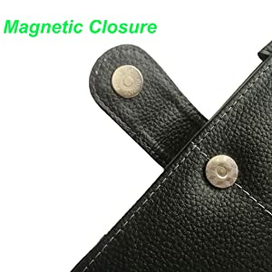Magnetic closure design