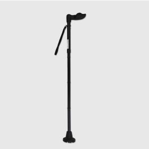 walking cane folding offset ergonomic handle men women fashionable adjustable elderly stick