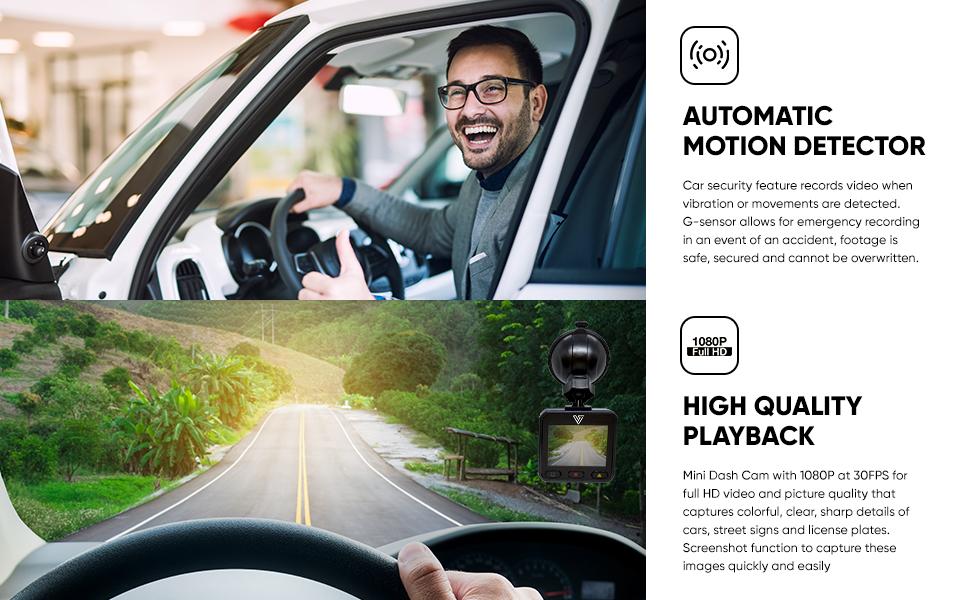 Verratek c500 dashcam dash cam 1080p hd video recorder night vision car camera