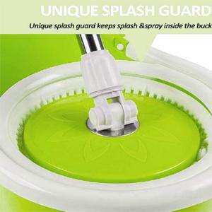 180 degree Rotating spin mop handle