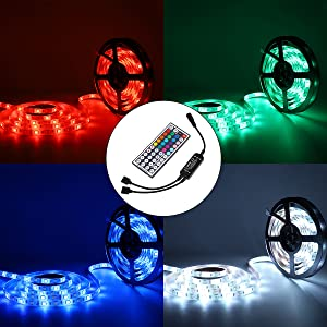 LED light strip with remote