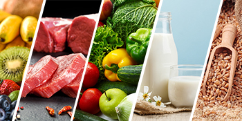 various food range