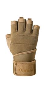 ArmyGreen Weightlifting gloves
