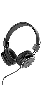 Over Ear 3.5 mm WiredHeadphones
