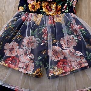 Toddler Baby Girl Off Shoulder summer dress