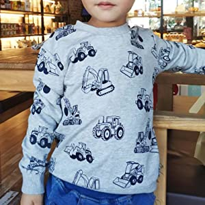 Just Hiker Boys Printed Design Activities Airline Pattern T-Shirts