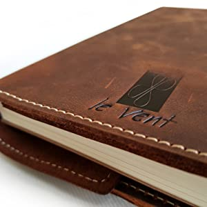 leather journals for men  leather notebook refillable leather planners leatherbound journals