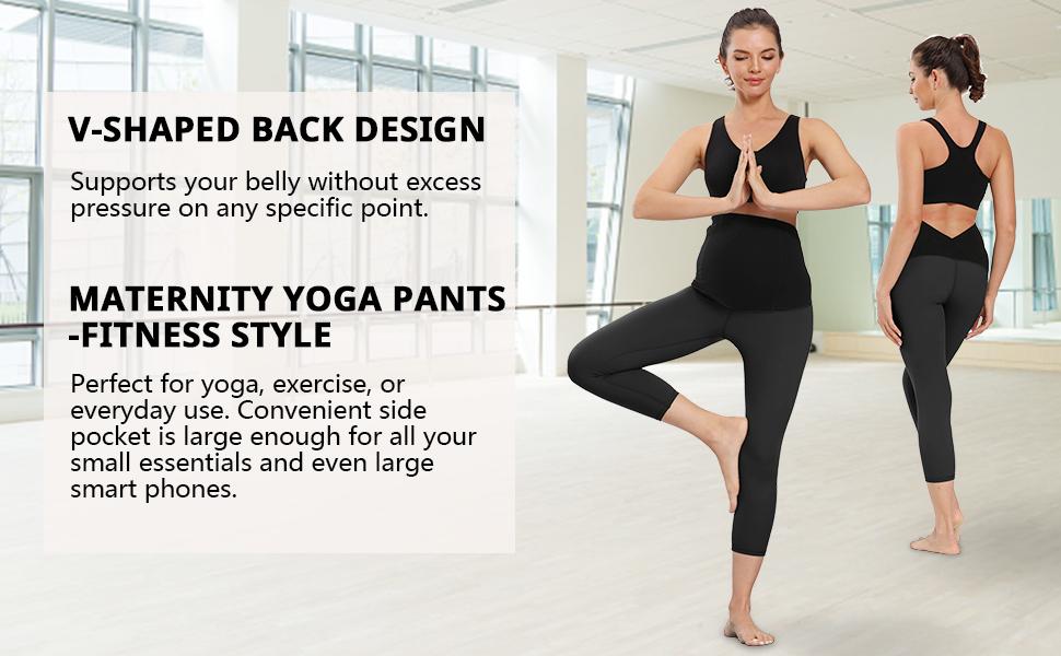 maternity+yoga+pants pregnancy leggings over belly pregnancy leggings