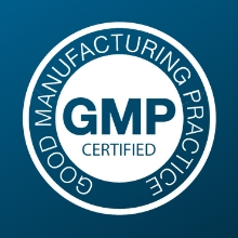 GMP Certified Product Low in Heavy Metals Prop-65 Compliant