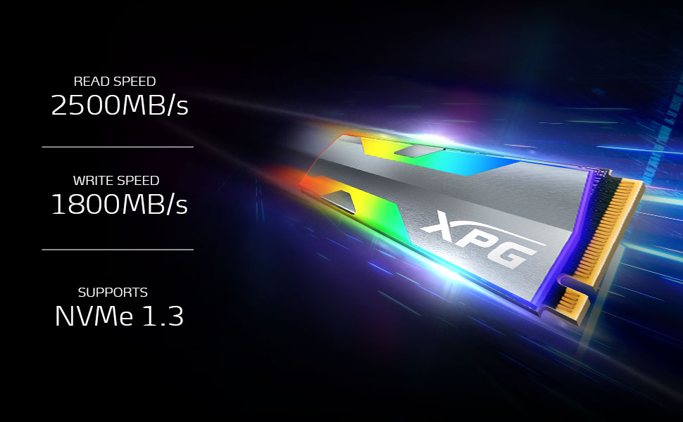 SPECTRIX S20G PCIE SSD RGB EXTREME PERFORMANCE