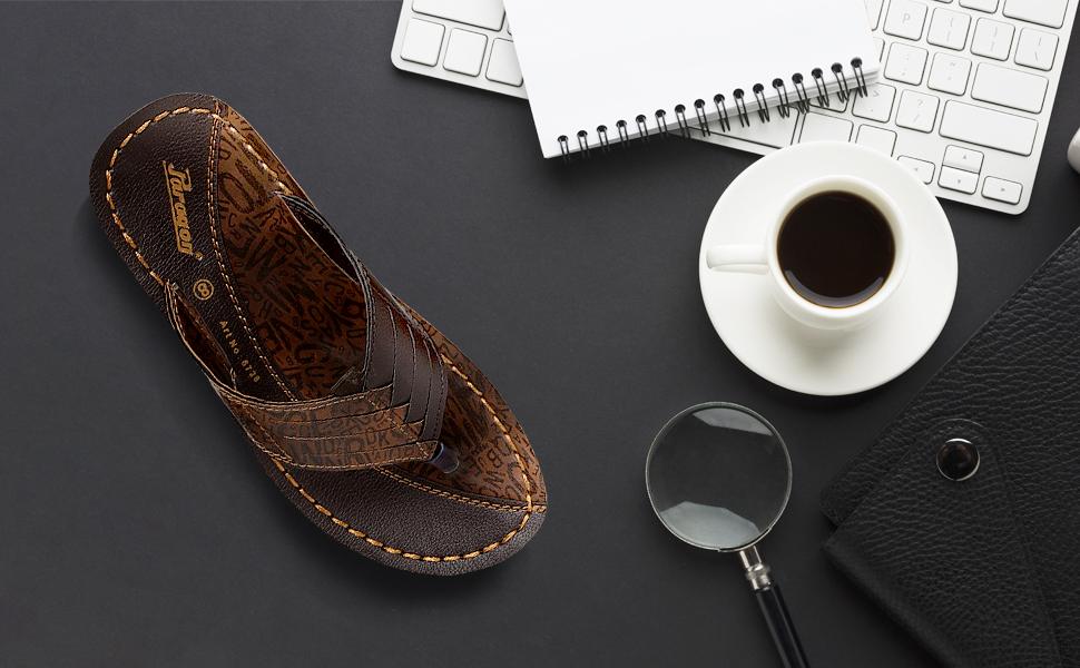 Paragon footwear brings you formal slippers for men