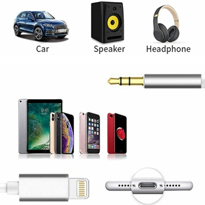 apple lightning to 3.5mm aux cable