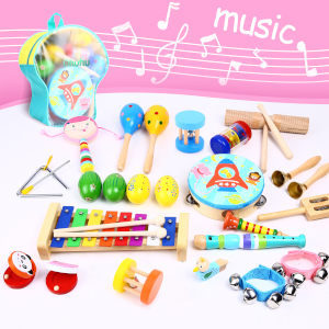 kids musical children percussion instruments music set toy