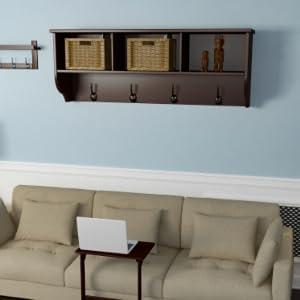 Wall storage shelf