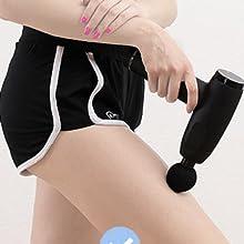 massage gun for athlete