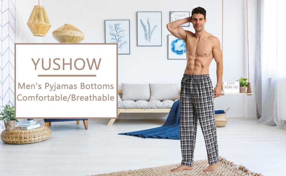 Men Lounge Pants Pyjama Trousers