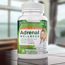 Adrenal Wellness Support Adrenal glands