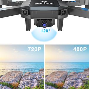 720P HD・120°広角レンズカメラ