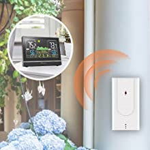 wireless indoor outdoor thermometer