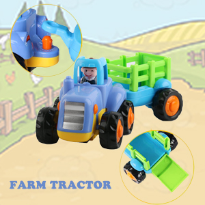 Farm Tractor with Wagon