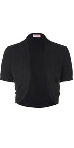WOMEN short sleeve shrug